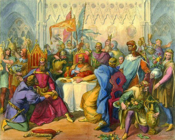 W 1364 roku Mikołaj Wierzynek, krakowski bankier, gościł u siebie koronowane głowy z całej Europy.