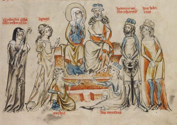 Zanim święta Jadwiga złożyła ślub czystości, urodziła siedmioro dzieci.