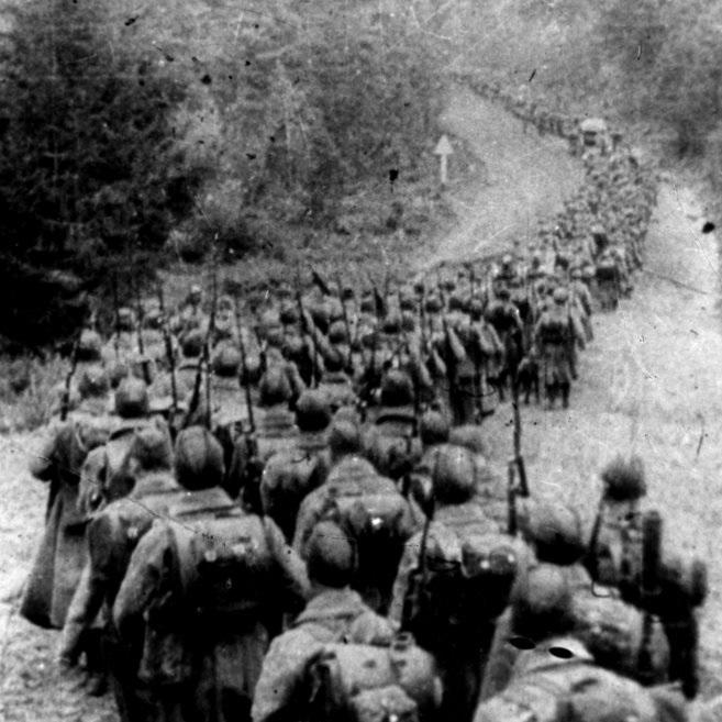 Pretekstem do inwazji radzieckiej była obrona interesów mniejszości ukraińskiej i białoruskiej na terenie upadłej rzekomo Rzeczpospolitej.