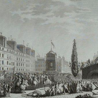 Po akceptacji konstytucji przez króla uroczyście proklamowano ją 14 września 1791 roku.