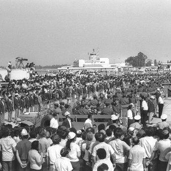 W uroczystościach żałobnych po zamachu wzięło udział kilkadziesiąt tysięcy osób.