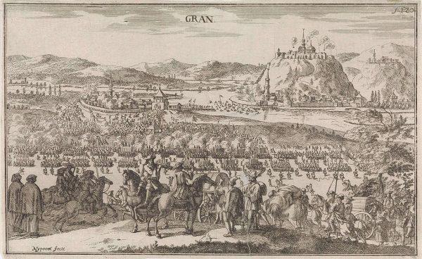 XVII-wieczne przedstawienie bitwy pod Parkanami.