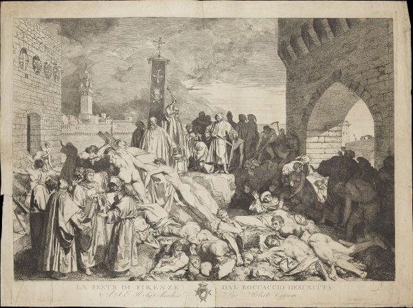 Czarna Śmierć we Florencji w 1348 roku (fot. domena publiczna)