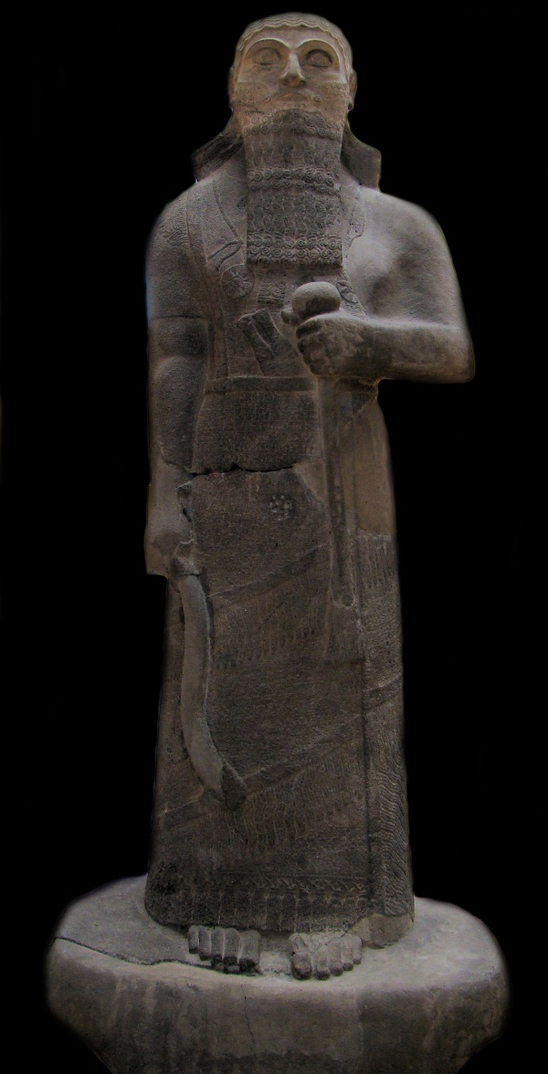 Figura Salmanasara III (fot. Bjørn Christian Tørrissen, lic. CCA SA 3.0)
