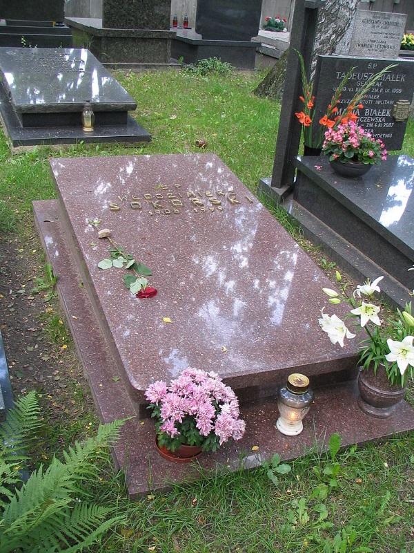 Grób Włodzimierza Sokorskiego na Cmentarzu Wojskowym na Powązkach w Warszawie (fot. domena publiczna)