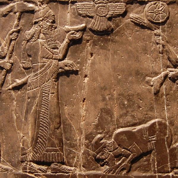 Jehu, król północnego królestwa Izraela składający hołd Salmanasarowi III (fot. Steven G. Johnson, lic. CC BY-SA 3.0)