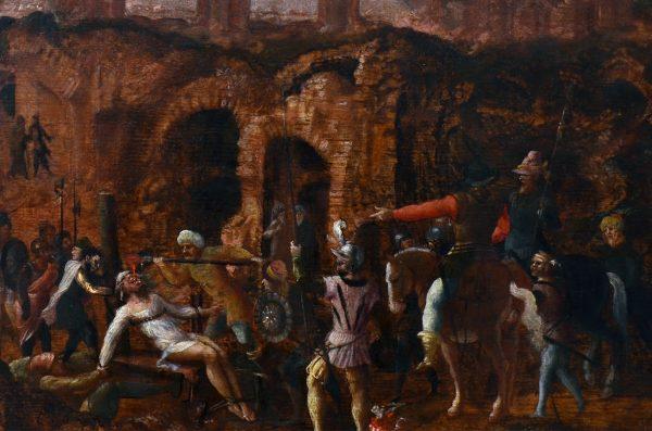 Krassus zginął, walcząc przeciwko Partom.