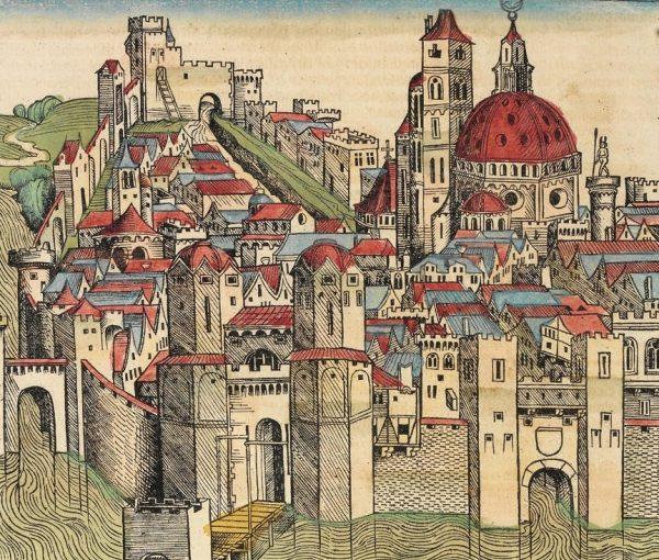 Sztuka budowy mocnych murów obronnych niemal wymarła u schyłku starożytności. Na jej odrodzenie trzeba było poczekać kilka stuleci.