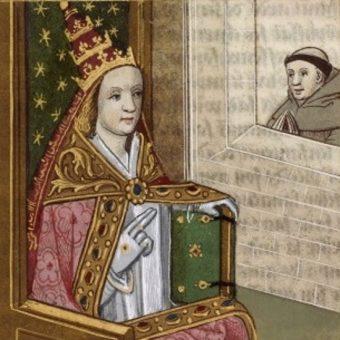 Papieżyca Joanna (fot. domena publiczna)