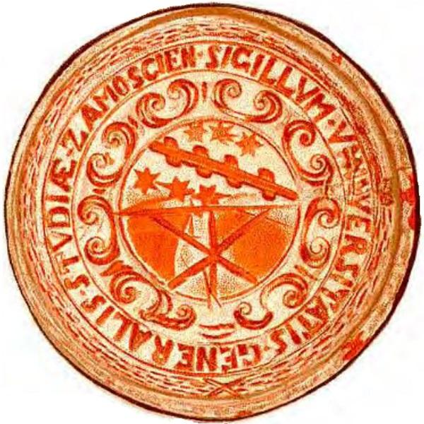 Pieczęć Akademii Zamojskiej (fot. domena publiczna)