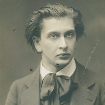 Portret Juliusza Kadena-Bandrowskiego z 1913 roku (fot. domena publiczna)