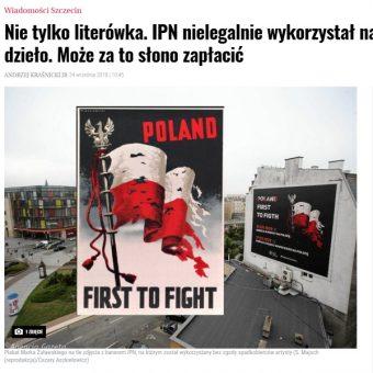 """Screen materiału przygotowanego przez serwis szczecińską """"Wyborczą"""""""