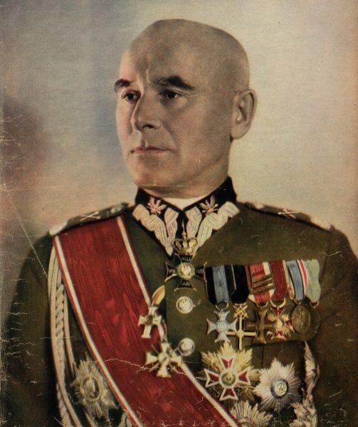 Marszałek Śmigły-Rydz zdecydował się na pasywną obronę w konflikcie z Niemcami.