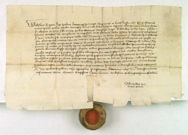 Zapis króla Władysława Jagiełły dla Zawiszy Czarnego