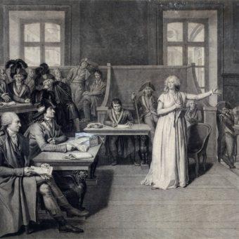 Proces Marii Antoniny trwał w dniach 14-15 października 1793 roku.