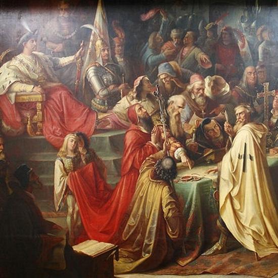 Pokój podpisali król Kazimierz IV Jagiellończyk oraz wielki mistrz Ludwig vn Erlichshausen.