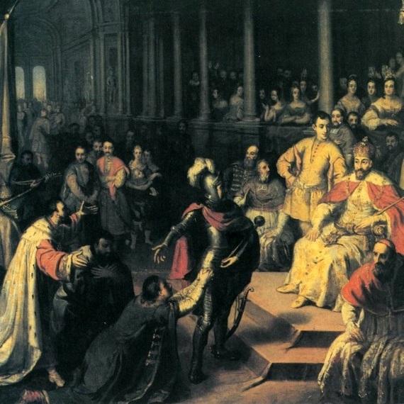 Wasyl i jego bracia złożyli pokłon polskiemu królowi.