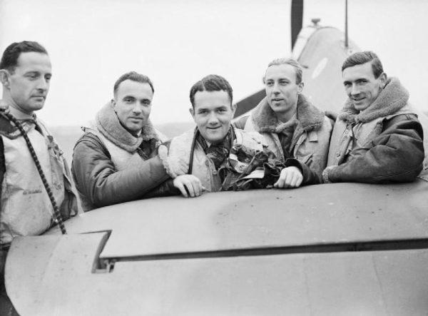Kotz został trzynastym z kolei dowódcą legendarnego Dywizjonu 303.