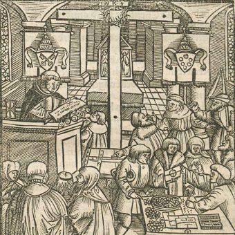 Luter sprzeciwiał się przede wszystkim praktyce sprzedawania w Kościele odpustów.