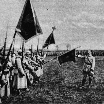 Polska armia we Francji zaczęła się formować w drugiej połowie 1917 roku.