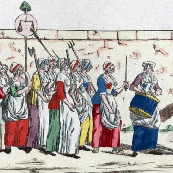 W pochodzie wzięło udział kilka tysięcy kobiet.