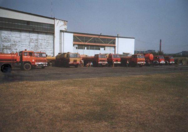 W sierpniu 1992 roku trwała susza. Wozy strażackie po wodę jeździły do kopalni piasku i żwiru w Dziergowicach.