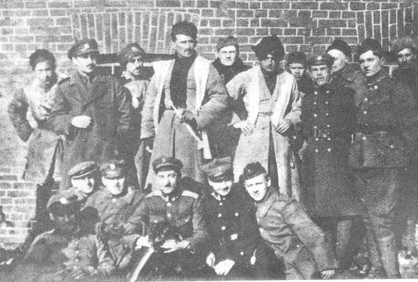 Stanisław Bułak-Bałachowicz i jego ludzie na zdjęciu marca 1920 roku.