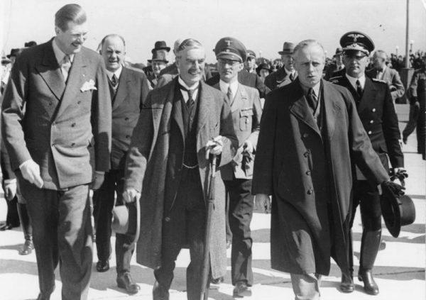 Chamberlain był najważniejszą postacią wśród zachodnich przywódców obecnych w Monachium.