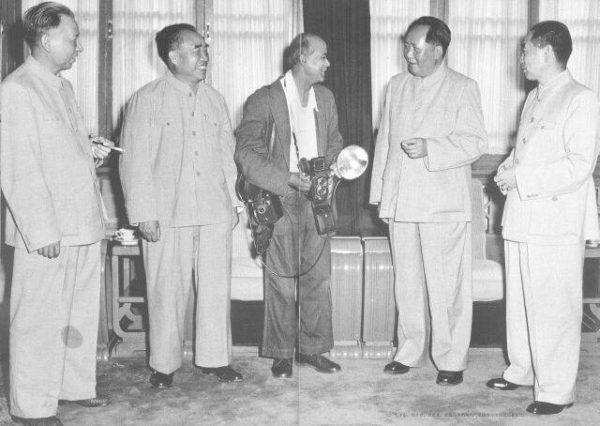 W 1956 roku odbył się ósmy kongres Komunistycznej Partii Chin. Zdjęcie z 1956 roku.