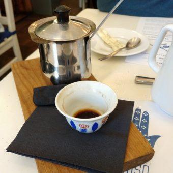 Kawa po turecku podawana w tygielku (fot. Aleksandra Zaprutko-Janicka)