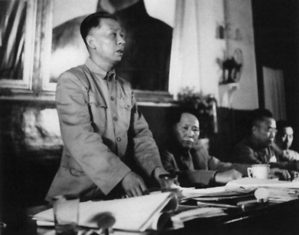 Liu Shaoqi był w partii numerem dwa. Zdjęcie z 1950 roku.
