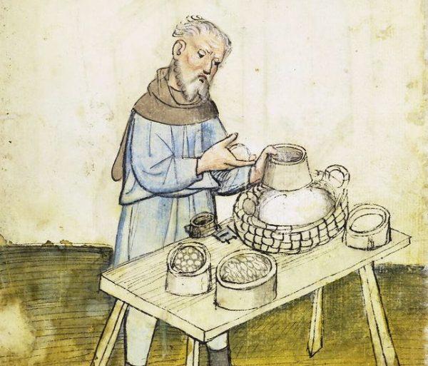Nie wszystkie towary wystawiane przez średniowiecznych kupców pachniały dobrze. Należało się trzymać z dala zwłaszcza od stanowisk z rybami... Ilustracja poglądowa.