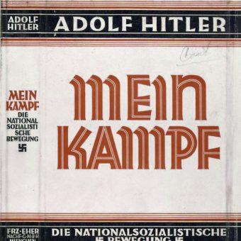 Okładka Mein Kampf (fot. domena publiczna)