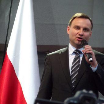 Prezydent Andrzej Duda (fot. Piotr Drabik, lic. CC BY 2.0)