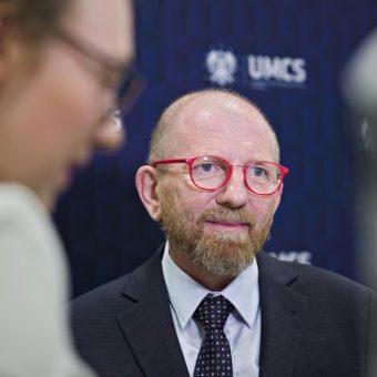 Prof. Jerzy Kochanowski (fot. Bartosz Proll, UMCS)