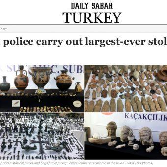 Screen materiału przygotowanego przez turecki portal Dailysabah.com.