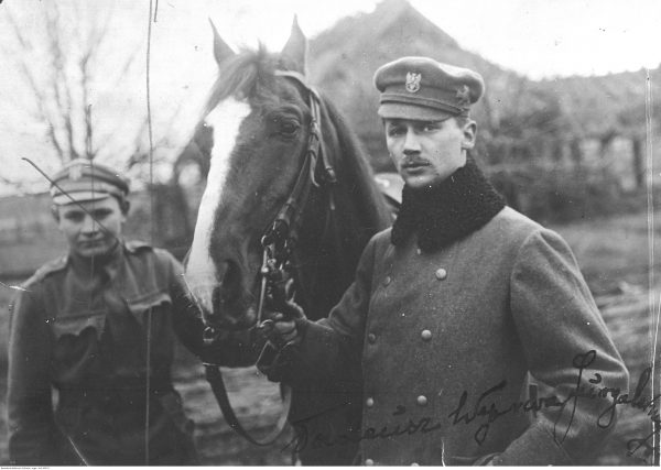 Tadeusz Wyrwa-Furgalski na froncie wschodnim pod Stochodem