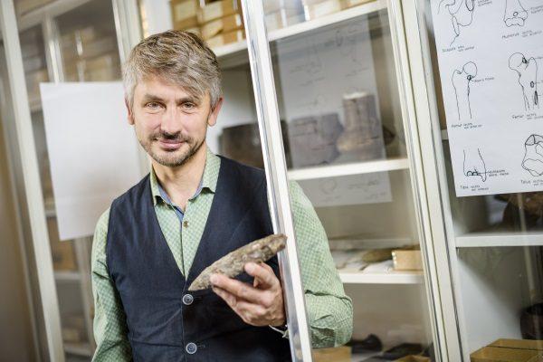 Thomas Stöllner, ekspert w dziedzinie archeologii kopalń soli (fot. Damian Gorczany)