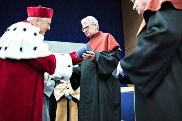 Uroczystość na UMCS (fot. Bartosz Proll, dzięki uprzejmości UMCS)