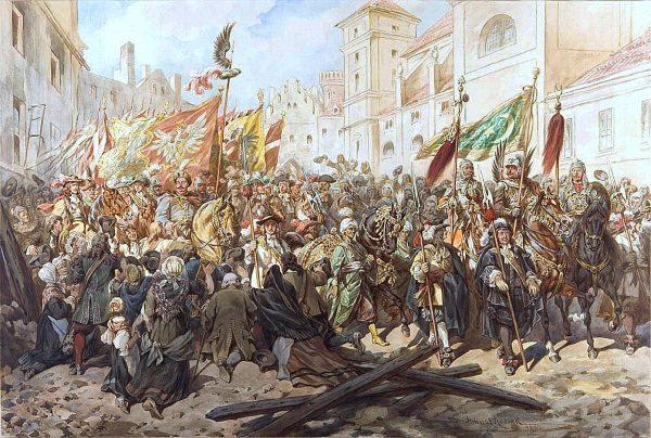 Wjazd Jana III Sobieskiego do Wiednia (fot. domena publiczna)