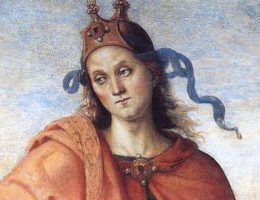 Katon Starszy, tu przedstawiony na renesansowym portrecie Pietro Perugino, żył w latach 234-149 p.n.e.
