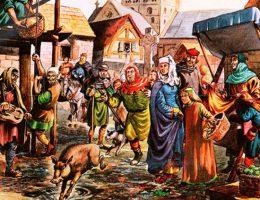 Średniowieczne miasto oferowało przechodniom wiele wrażeń, także tych zapachowych. Niekoniecznie przyjemnych.