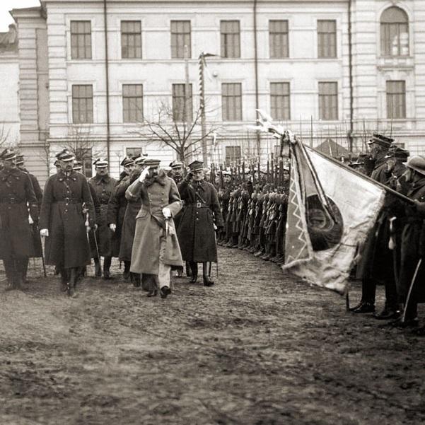 11 listopada Józef Piłsudski przejął dowodzenie wojskiem. Zdjęcie z 1919 roku.