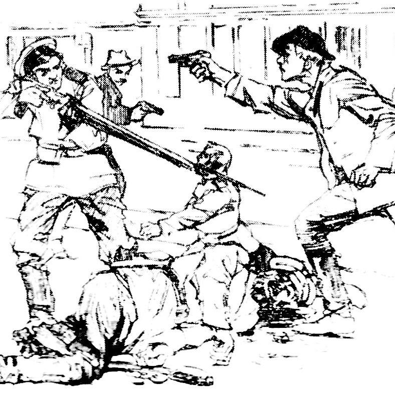 Członkowie Organizacji Bojowej PPS stawili się na manifestację uzbrojeni w bomby i pistolety.
