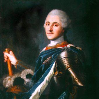 Portret koronacyjny Stanisława Augusta Poniatowskiego.