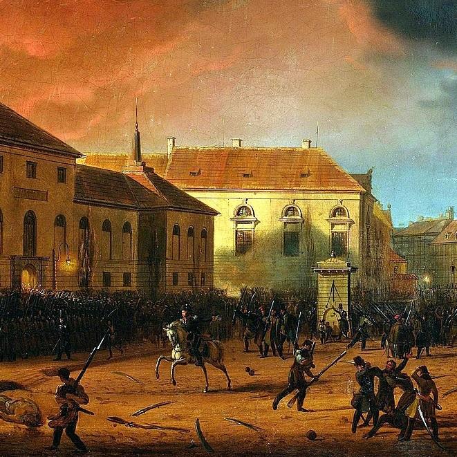 Powstańcy pierwszej nocy zdołali zdobyć warszawski Arsenał.