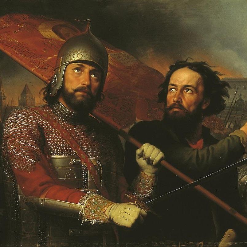 Powstanie przeciw Polakom poprowadzili Dymitr Pożarski i Kuźma Minin.