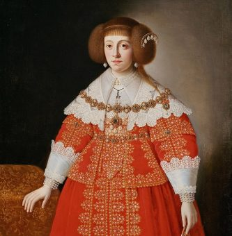Portret Cecylii Renaty Habsburżanki.