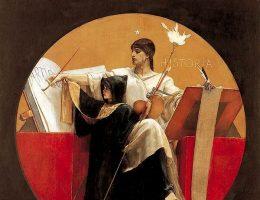 Alegoria historii według Nikolaosa Gyzisa. 1892 rok.