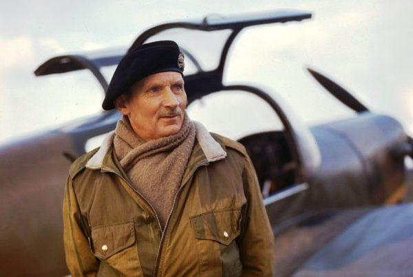 Bernard L. Montgomery, główny pomysłodawca operacji Market Garden.